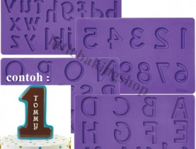 Alphabet and Number Mold