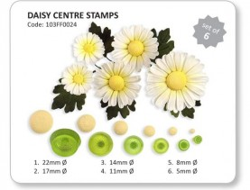 Daisy Centre Stamps