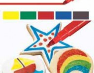 FoodWriter Primary Colors Edible Color Markers