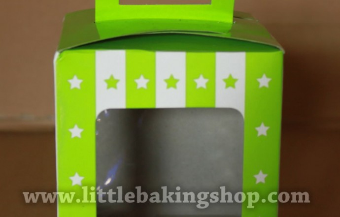 Green Star Stripe Box ( 10pcs )