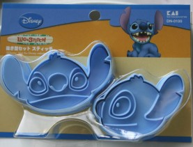 Lilo n Stich Cookie Cutter Press Set